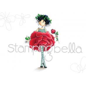 tiny townie GARDEN GIRL ROSE (includes 1 stamp)